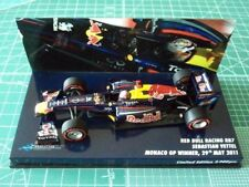 Sebastian VETTEL - MINICHAMPS 413110401 - RED BULL RB7 - WINNER MONACO 2011 -