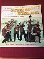 On Bourbon Street With The Phenomenal Dukes Of Dixieland Vol 4 Lp