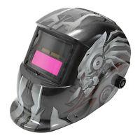 Solar Auto Darkening Welding Helmet TIG MIG Weld Welder Lens Grinding Mask W6I9