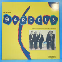 """THE BEST OF THE  MARCELS 1986 ORIGINAL """"BLUE MOON"""" GREAT CONDITION! VG++/VG+!!"""