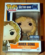 New ~ Funko Pop ~ RIVER SONG~ Doctor Who ~ Hot Topic Exclusive Pre-Release
