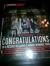One Direction Live Nation Salutes Rare Promo Poster Ad Framed!