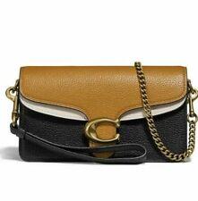 🌺🌹Coach Tabby 76199 Straw Multi Leather Colorblack Crossbody Bag