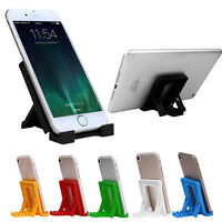 Universal Foldable Cradle Phone Holder Stand Multi-angle For iPhone 7 Samsung