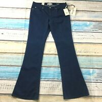 """Henry & Belle Womens Jeans size 12 Long Tall x36"""" new nwt Dark Wash Micro Flare"""