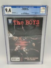 DC WILDSTORM THE BOYS #1 - CGC 9.4 NM 2006 🔥 1st BUTCHER HUGHIE TERROR A-TRAIN