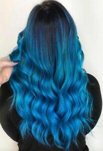 Mermaid Hair Coloring Shampoo Mild Safe Hair Dyeing Shampoo for All Hair Types