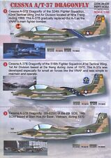Print Scale Decals 1/48 Cessna A-37 T-37 Dragonfly