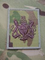 British Army,PARA,SAS,RAF,RM,SBS - MTP /UBACS/ID Panel WO1/RSM Rank Patch/Badge
