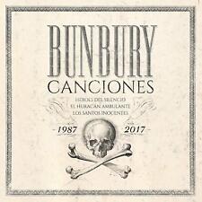 BUNBURY- CANCIONES 1987-2017- 3 CDS PRE ORDER 16/11 HEROES DEL SILENCIO