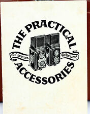 Rolleiflex Rolleicord Practical Accessories Catalog - 24 pages, March 1938