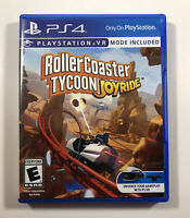 RollerCoaster Tycoon: Joyride VR PS4 (PlayStation 4) (PSVR) Fast Free Shipping