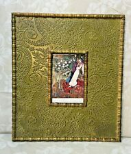 Marc Chagall The Three Candles Print in Beautiful Wood Frame Glass in Place