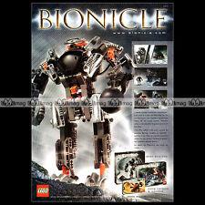 LEGO BIONICLE 2002 - Pub / Publicité / Original Advert Ad #A1013