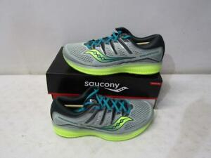 Saucony Men's S20462-37 Triumph ISO 5 Running Shoes, Frost, SIZE 11 M