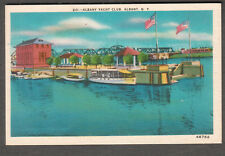unmailed post card Yacht Club Albany NY/Princly's Greeting Cards/Metrocrast