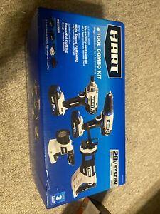 Hart HPCK402B Cordless 4-Tool Combo Kit *NEW IN BOX*