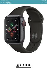Apple Watch Series 5 44mm Space Gray Alum, Black Band (GPS)Open Box