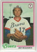 1978 Topps Baseball Atlanta Braves Team Set