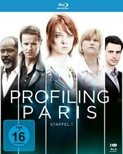ODILE VUILLEMIN/CRAMOISAN,GUILLAUME - PROFILING PARIS-STAFFEL 1 2 BLU-RAY NEU