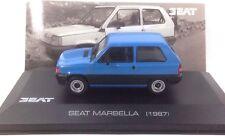IXO ALTAYA 1/43 SEAT MARBELLA 1987 AZUL BLUE