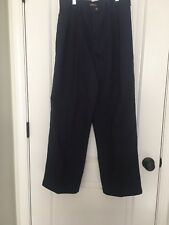 George Boys Casual Pleated Front Pants Sz 16R Blue Bottoms