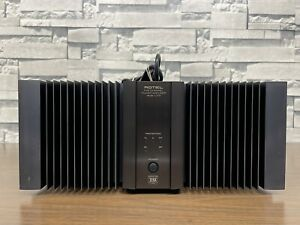 Rotel RMB 1075 Power Amplifier 5 Channel Works Great