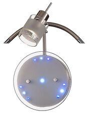 Wandleuchte Wandlampe Chrom Glas Rund inkl. LED Farbwechsler Nachtlicht Funktion