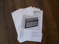 THE ROBERTS R900 TECHNICAL DATA SHEETS