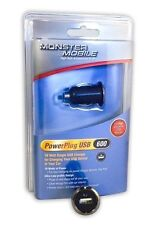 Monster Cable iCar USB 600 Mobile Car Charger Universal Adapter