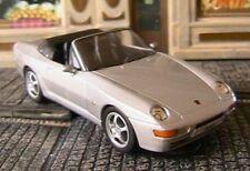 Porsche 968 cabriolet 1993 high-speed 1/43 silver german roadster germany