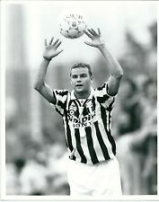 1995 GIANLUCA PESSOTTO Foto originale Amichevole Sel. Valle d'Aosta Juventus