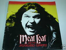 MEAT LOAF & THE NEVERLAND EXPRESS - 1984 TOUR PROGRAMME