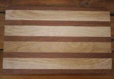 Vintage OAK Cedar Redwood Butcher Block Wood Kitchen Cutting Board 9.75 x 15.25