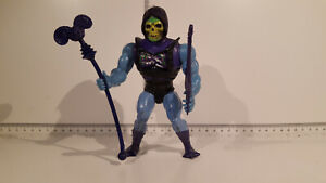 (Lot 705h) He-Man Masters of the Universe  - Battle Armor Skeletor , Soft Head