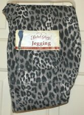 New Womens Small 4-6 Leopard Print Jeggings Faded Glory