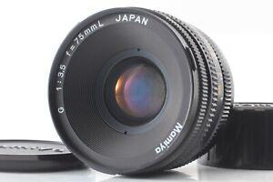 AS-IS CLA'd 【APP MINT】 MAMIYA G 75mm f/3.5 L MF Lens for NEW MAMIYA 6 from JAPAN