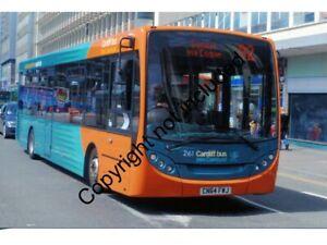 BUS PHOTO: CARDIFF ENVIRO 261 CN64FWJ