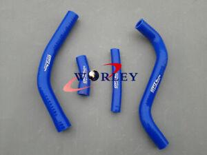 Silicone Radiator Hose FOR Yamaha YZ250 YZ 250 2 stroke 2002-2015 08 09 10 11 12 13 14 BLUE RED