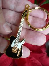 (M-224-C) Pick from 4 colors FENDER TELECASTER Electric guitar KEY CHAIN Jewelry