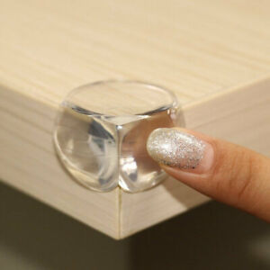 8pcs Baby Safety Table Corner Protection Transparent Anti-Collision Angle Cover