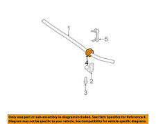 GM OEM Stabilizer Sway Bar-Front-Stabilizer Sway Bar Bushing 15125531
