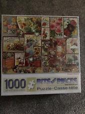 Xmas Sale.Bit & Pieces 1000 Pc Floral Puzzle.'Flower Posters'.BNIBox-F Sealed.BC