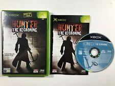 Hunter: The Reckoning - Original Xbox Game PAL CIB