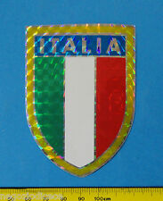 ITALIA BANDIERA FLAG - adesivo-sticker anni '80 - NUOVO-NEW -A45