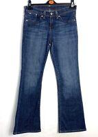 Ladies Levi Strauss & Co. Demi Curve Modern Rise Stra Fit Blue Jeans W30 L32