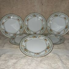 Noritake Ivory China 6 Bread /Butter Plates # 7236 Jasmine  Made in Japan