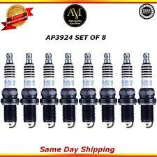 Platinum Spark Plugs AP3924 Set of 8 For 08/14 Audi Bentley Jaguar 4.2L 4.4L6.8L