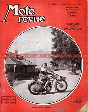 MOTO REVUE 1022 BSA Bantam PARIS NICE Cyclo industrie sport en Allemagne 1951