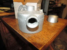 "NEW  APPLETON GRHLB75 3/4"" MALL IRON JUNCTION UNILET OUTLET BOX"